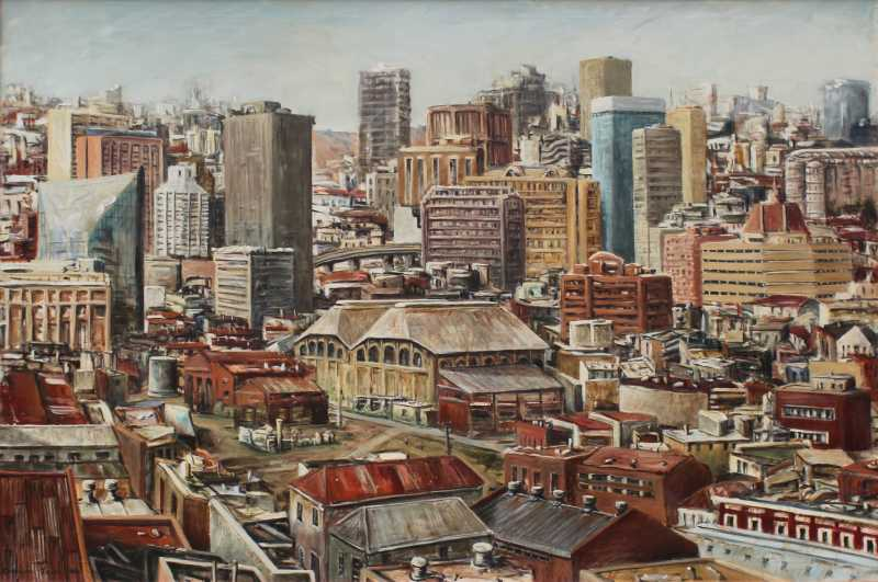 Painting, Downtown Jo'burg
