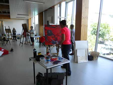 Learn to draw or paint in Nelson